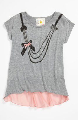 Jenna & Jessie 'Necklace' Tee (Little Girls)