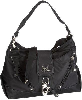 Sansibar Women's B-334 TY 01 Shoulder Bag Black EU