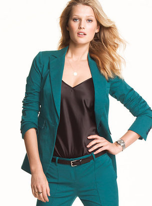 Victoria's Secret Long & Lean One-button Jacket