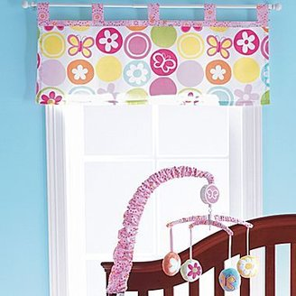 JCPenney Okie Dokie® Butterfly Circles Valance
