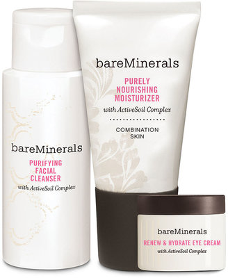 bareMinerals Bare Escentuals Daily Skin Renewing Trio Value Set - Combination Skin