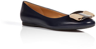 Salvatore Ferragamo Ninna Leather Flats