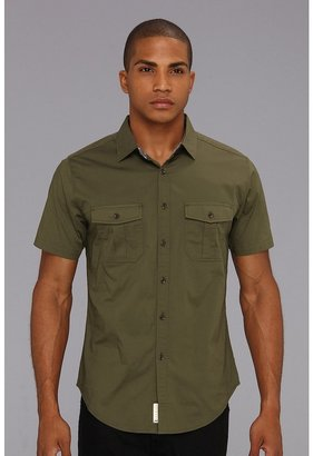 Ecko Unlimited The Kindling S/S Shirt (Olive) - Apparel