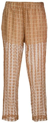 Forte Forte lace cropped trouser