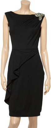 Matthew Williamson Embellished jersey dress