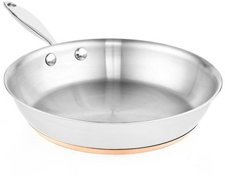 """Martha Stewart Collection Copper Accent 10"""" Fry Pan"""