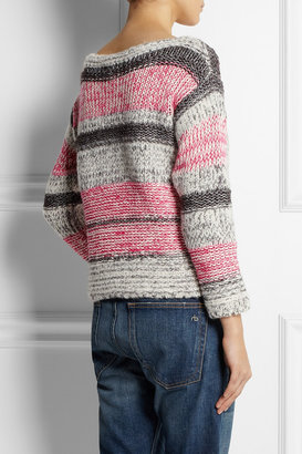 Etoile Isabel Marant Striped cotton-blend sweater