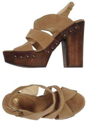 Fru.it Platform sandals