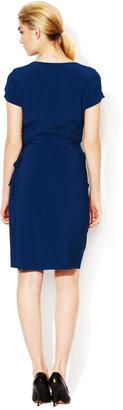 Vivienne Westwood Red Label Silk Crepe Wrap Dress