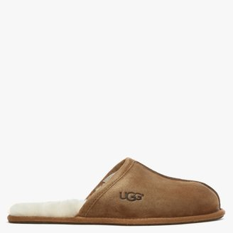 UGG Mens Scuff Chestnut Suede Slippers