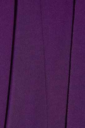 Roland Mouret Avea stretch-jersey crepe gown