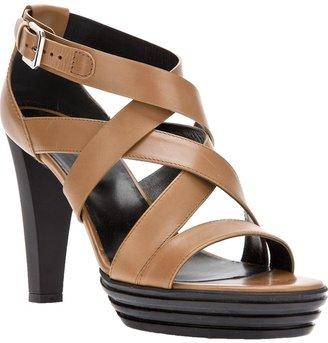 Hogan strappy heeled sandal