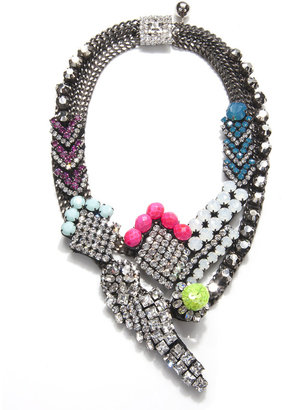 Shourouk Rita Cadillac Necklace