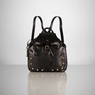 Ralph Lauren Studded Calfskin Backpack