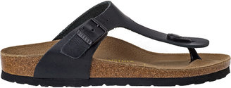 Birkenstock Gizeh Black Leather