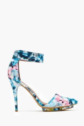 Nasty Gal Solitaire Platform Pump - Digital