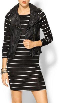 Juicy Couture Tinley Road Hannah Vegan Leather Vest