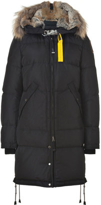 Parajumpers Long Bear Down Coat in Black