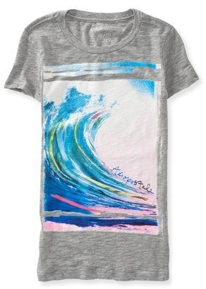 Aeropostale Big Wave Graphic T