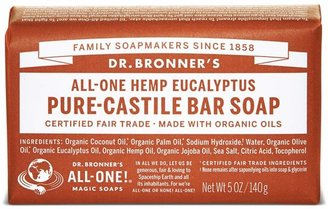 Dr. Bronner's Organic Eucalyptus Castile Bar Soap by 5oz Bar)