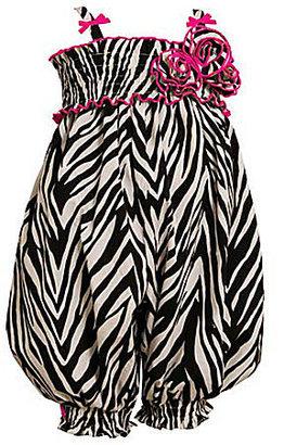 Bonnie Jean 2-6X Zebra-Printed Woven Party Pants