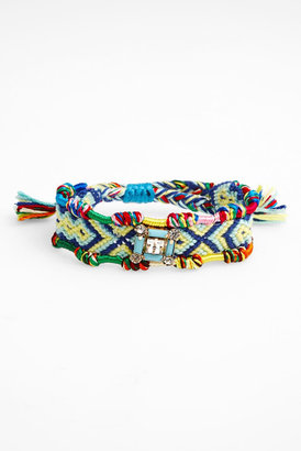Cara Accessories Cara Crystal Friendship Adjustable Bracelet