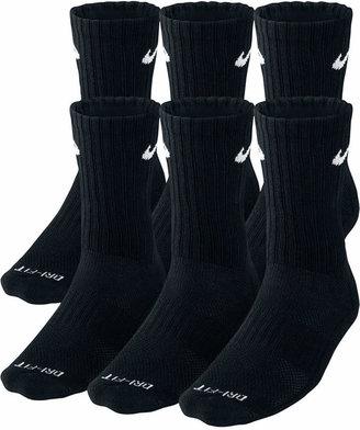 Nike Men Socks, Dri Fit Crew 6 Pairs