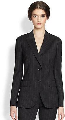 Dolce & Gabbana Wool Pinstripe Jacket