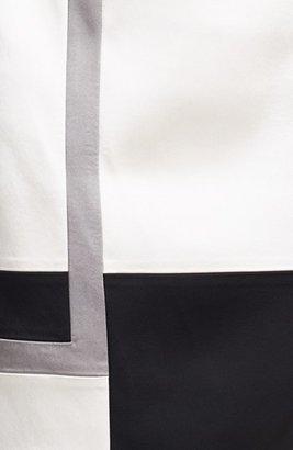 Jax Colorblock Cap Sleeve Sheath Dress