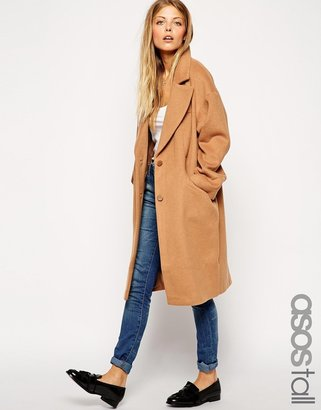 ASOS TALL Cocoon Coat