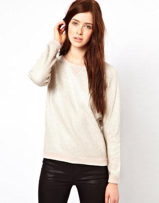 Oasis Sequin Sweater