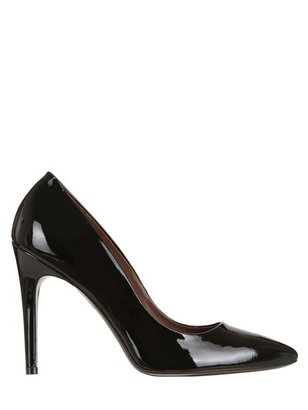 100mm Pointed Patent Leather Pumps