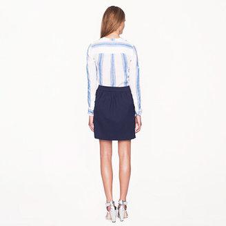J.Crew Double crepe skirt