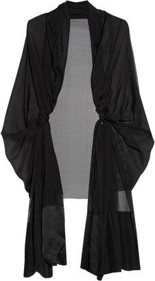 Amanda Wakeley Silk-chiffon shawl