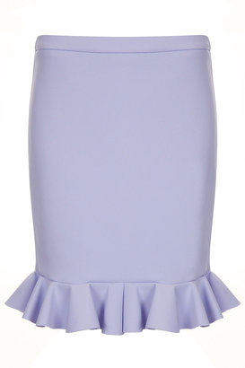 J.W.Anderson **Neoprene Frill Skirt By For Topshop