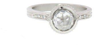 Megan Thorne Diamond Shoulder Ring - White Gold