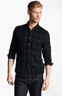 AMI Alexandre Mattiussi Plaid Flannel Shirt