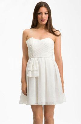 Jill Stuart Sweetheart Neckline Bow Detail Dress