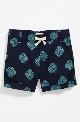 Tucker + Tate + Tate 'Clover' Print Shorts (Little Girls & Big Girls)