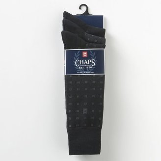 Men's Chaps Neat Dress Socks $18 thestylecure.com