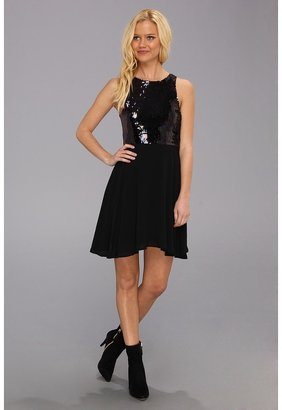 MinkPink Glam Rock Combo Dress (Multi) - Apparel