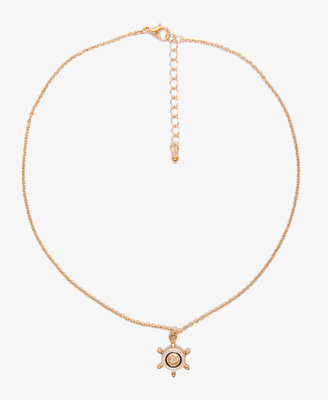 Forever 21 Lacquered Boat Wheel Necklace