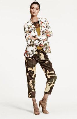 Haute Hippie Floral Print Silk Blazer 2