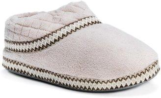 Muk Luks Rita Micro-Chenille Full-Foot Slippers