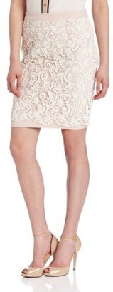 French Connection Women's Loving Crochet Skirt