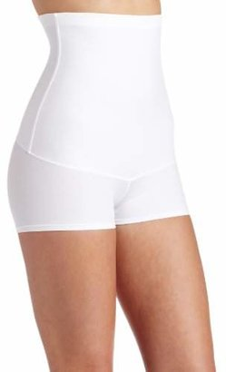 Flexees Maidenform Women's Shapewear Minimizing Hi-Waist Boyshort
