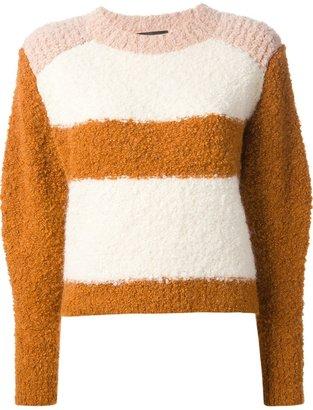 Isabel Marant 'Owel' colour block sweater