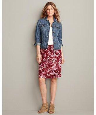Eddie Bauer Printed Skirt