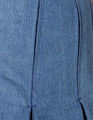 Balmain Denim skirt