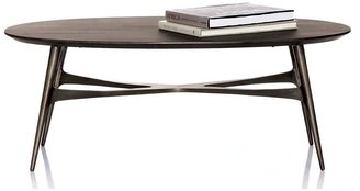 Crate & Barrel Bel-Air Oval Coffee Table